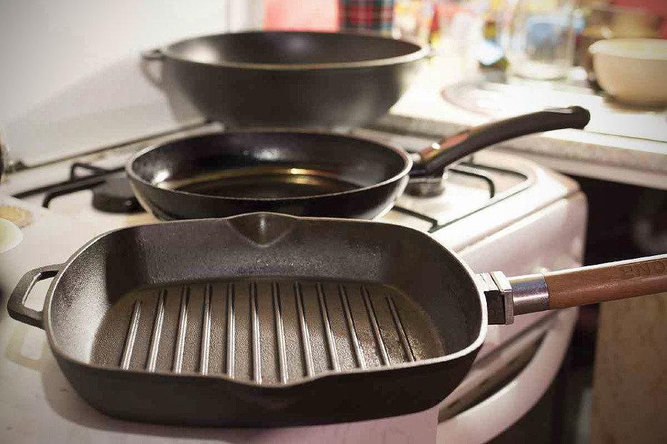 Тесное знакомство со сковородой